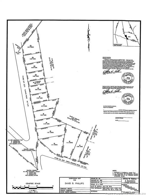 Alamac Road Lumberton, NC 28358