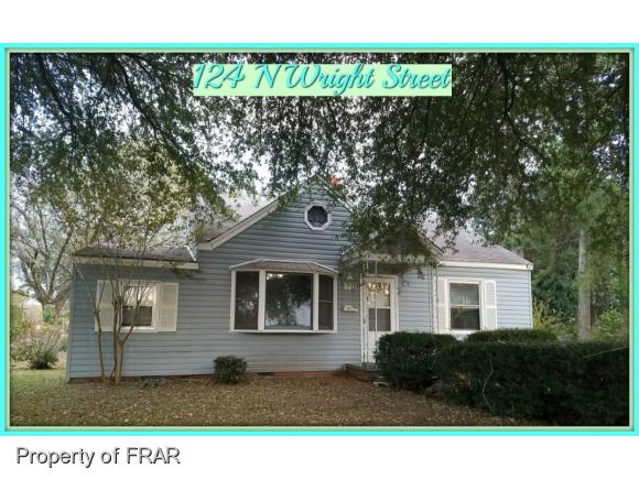 Photo of 124 N WRIGHT ST  RAEFORD  NC