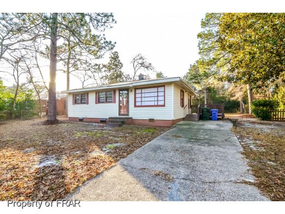 Photo of 3625 CARLOS AVE  FAYETTEVILLE  NC