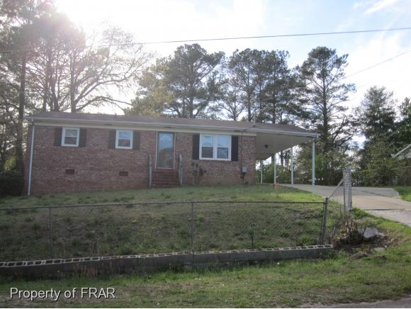 Photo of 2720 LARRY ST  FAYETTEVILLE  NC