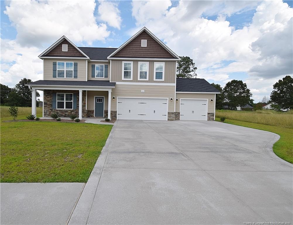 One of Fayetteville 4 Bedroom Homes for Sale at 213 Sand Rock (Lt 7) Road