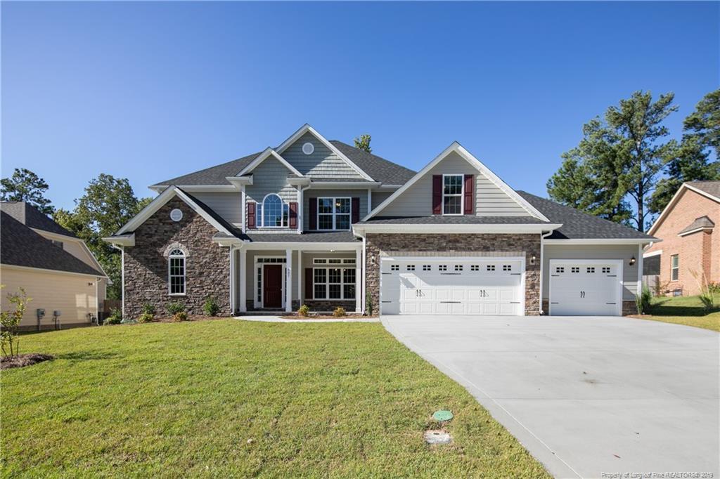 527 W Summerchase (Lot 42) Drive, Fort Bragg, North Carolina