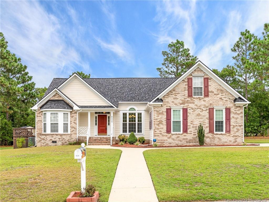 8226 Foxtrail Drive, Fayetteville in Cumberland County, NC 28311 Home for Sale
