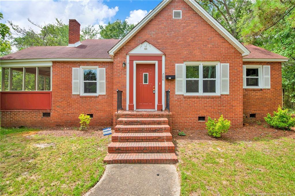208 Sherman Drive, Fayetteville in Cumberland County, NC 28301 Home for Sale