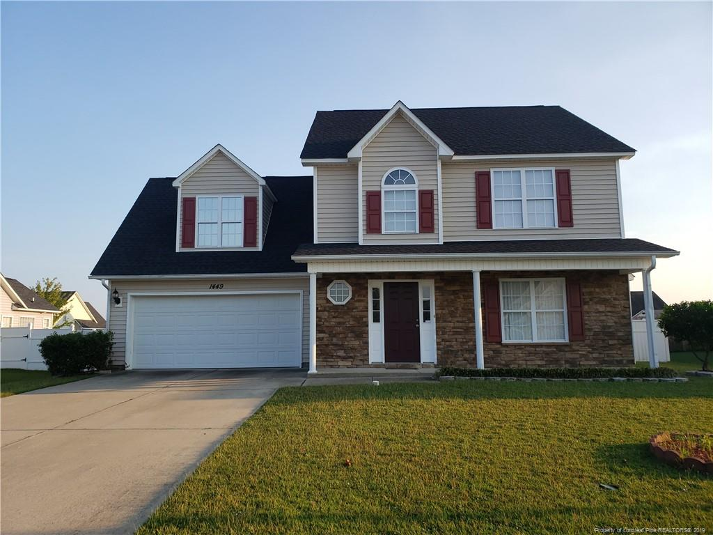 1449 Kershaw Loop, Fayetteville in Cumberland County, NC 28314 Home for Sale