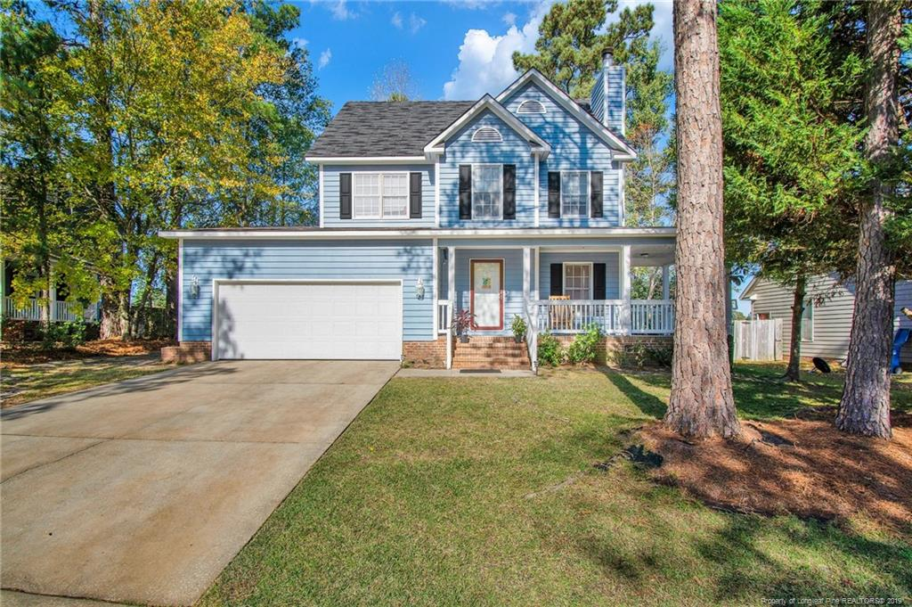712 Larkspur Drive, Fayetteville in Cumberland County, NC 28311 Home for Sale