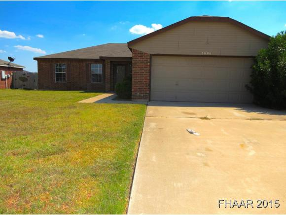 Rental Homes for Rent, ListingId:33676993, location: 3606 Woodlake Drive Killeen 76549