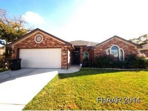Rental Homes for Rent, ListingId:31463504, location: 6404 Marble Falls Drive Killeen 76542