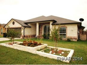 Rental Homes for Rent, ListingId:31463506, location: 3908 Salt Fork Drive Killeen 76549
