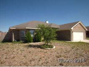 Rental Homes for Rent, ListingId:31463507, location: 4200 Fremont Drive Killeen 76549