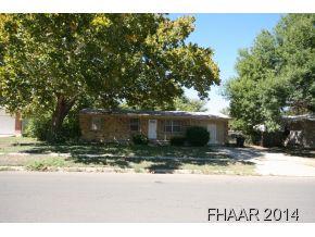 Rental Homes for Rent, ListingId:31613566, location: 1109 Santa Rosa Drive Killeen 76541