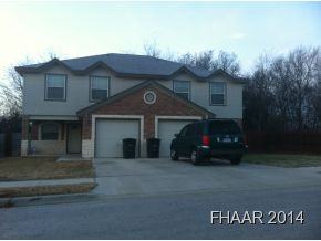 Rental Homes for Rent, ListingId:31614628, location: 102-A Kings Court Killeen 76542