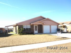 Rental Homes for Rent, ListingId:31612472, location: 3113 Chisohlm Killeen 76542