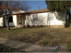 Rental Homes for Rent, ListingId:31612936, location: 207 W. Voelter Avenue Killeen 76541