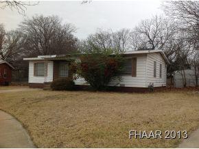 Rental Homes for Rent, ListingId:31612939, location: 1601 Elkins Place Killeen 76541