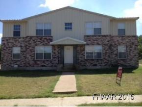 Rental Homes for Rent, ListingId:32126252, location: 806-2 Sissom Killeen 76541