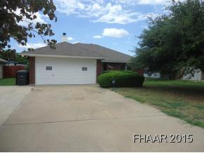 Rental Homes for Rent, ListingId:32443272, location: 2414 Silverhill Drive Killeen 76543