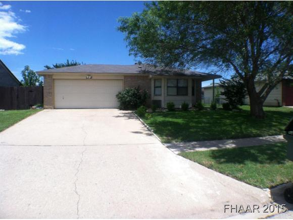 Rental Homes for Rent, ListingId:32595598, location: 2507 Traverse Drive Killeen 76543