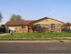 Rental Homes for Rent, ListingId:32776648, location: 2105 El Dorado Killeen 76543