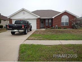 Rental Homes for Rent, ListingId:32871543, location: 3008 Nancy Jane Drive Killeen 76542