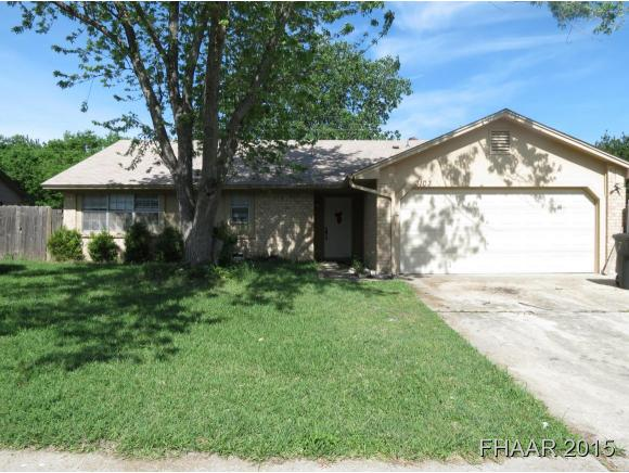 Rental Homes for Rent, ListingId:32919567, location: 3103 Bermuda Drive Killeen 76549