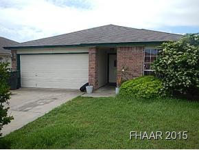 Rental Homes for Rent, ListingId:32957325, location: 2716 Blackburn Drive Killeen 76543