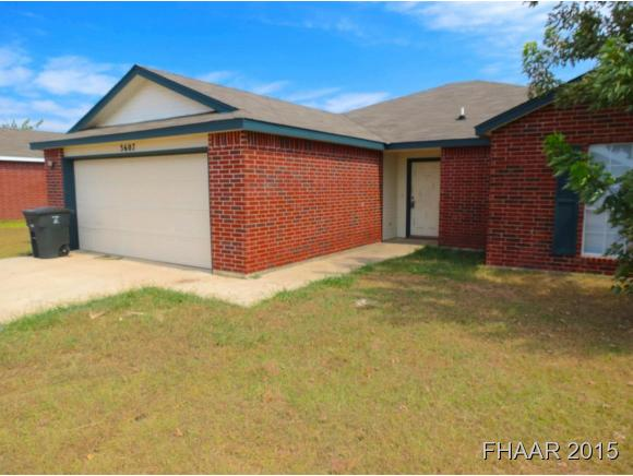 Rental Homes for Rent, ListingId:33074080, location: 3607 Woodlake Drive Killeen 76549