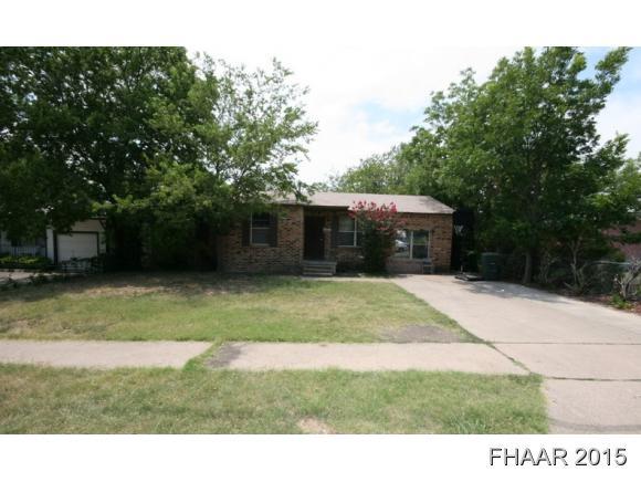 Rental Homes for Rent, ListingId:33379629, location: 108 W Vardeman Avenue Killeen 76541