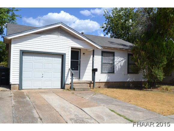 Rental Homes for Rent, ListingId:33457268, location: 304 Cloud Street Killeen 76541