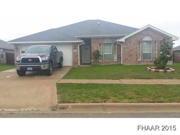 Rental Homes for Rent, ListingId:33562503, location: 2903 Bachelor Button Boulevard Killeen 76549