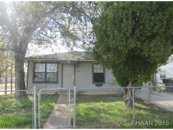Rental Homes for Rent, ListingId:33784446, location: 202 Evergreen Killeen 76541