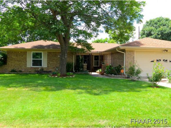 Rental Homes for Rent, ListingId:33871645, location: 1601 Miles Circle Killeen 76543