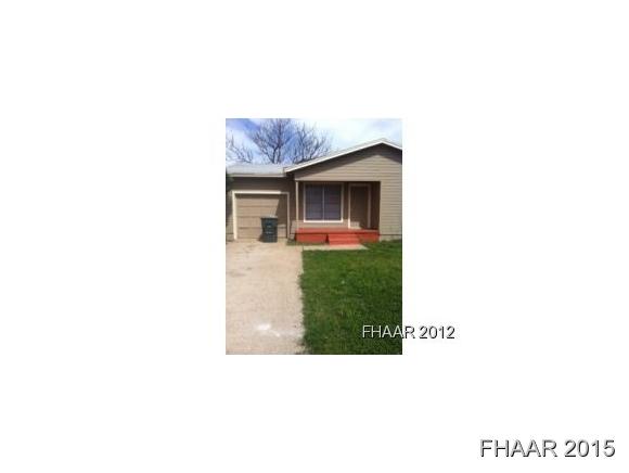 Rental Homes for Rent, ListingId:34292862, location: 2803 Hillside Drive Killeen 76543