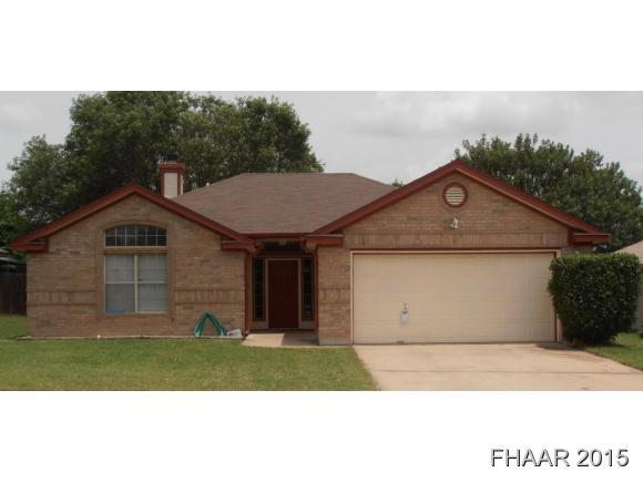 Rental Homes for Rent, ListingId:34455826, location: 2509 Lain Drive Killeen 76543