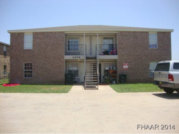 Rental Homes for Rent, ListingId:34589105, location: 3406-D Hereford Killeen 76542