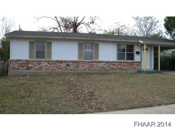 Rental Homes for Rent, ListingId:35057588, location: 507 N 24th Street Killeen 76541