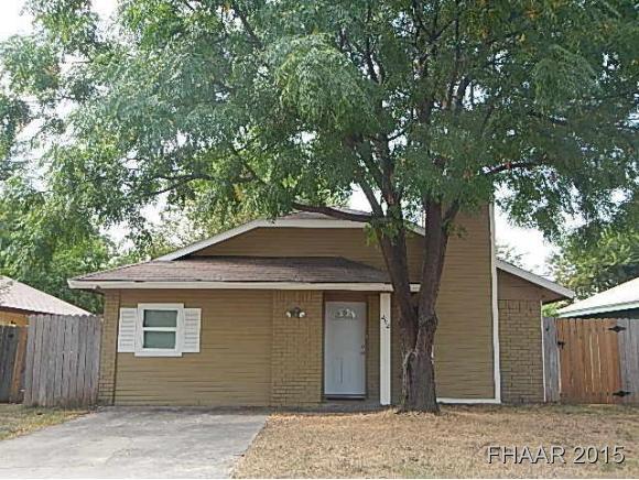 Rental Homes for Rent, ListingId:35082005, location: 2112 Coach Drive Killeen 76543