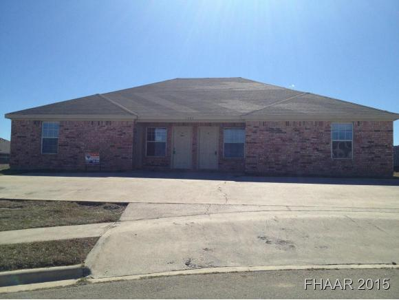 Rental Homes for Rent, ListingId:35105652, location: 2804 Kerrville Court Killeen 76549