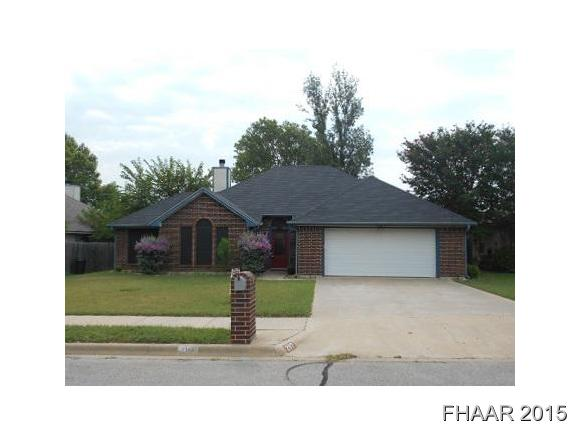 Rental Homes for Rent, ListingId:35490107, location: 2117 Diana Harker Heights 76548