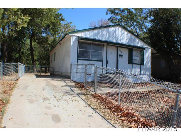 Rental Homes for Rent, ListingId:35650074, location: 1309 Greenwood Avenue Killeen 76541