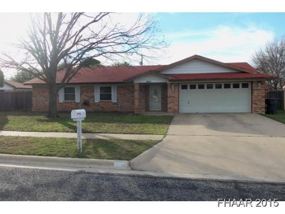 Rental Homes for Rent, ListingId:35650075, location: 1805 Eisenhower Killeen 76543
