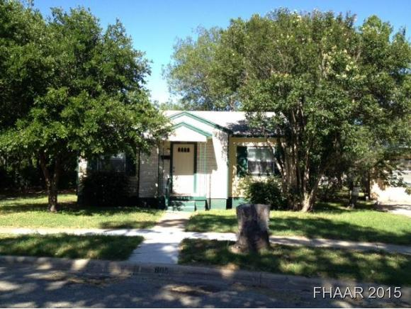 Rental Homes for Rent, ListingId:36192965, location: 805 Northside Drive Killeen 76541
