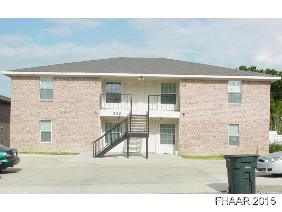 Rental Homes for Rent, ListingId:36315746, location: 338 S. 40th Street Killeen 76543