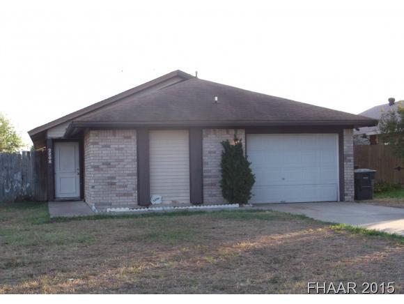 Rental Homes for Rent, ListingId:36641626, location: 2206 Carousel Killeen 76543