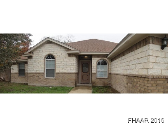 Rental Homes for Rent, ListingId:36737115, location: 806 Doubles Harker Heights 76548
