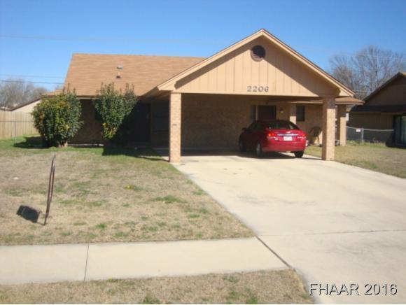 Rental Homes for Rent, ListingId:36753985, location: 2206-2 Shoemaker Killeen 76543