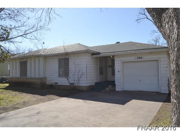 Rental Homes for Rent, ListingId:37005691, location: 506 E Dean Avenue Killeen 76541