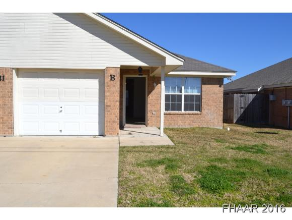 Rental Homes for Rent, ListingId:37005700, location: 1631 Yuma Harker Heights 76548