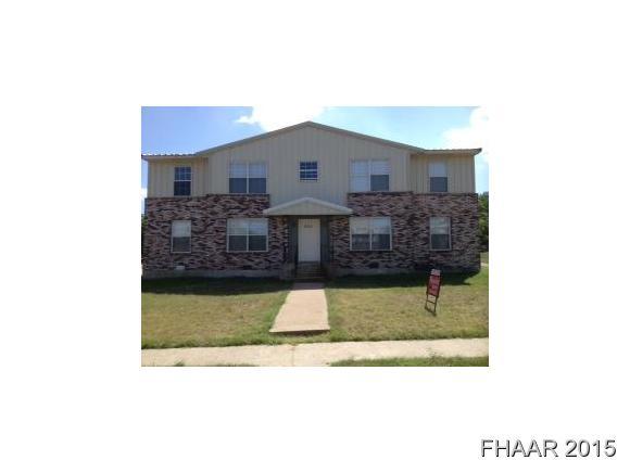 Rental Homes for Rent, ListingId:37042087, location: 806-2 Sissom Killeen 76541
