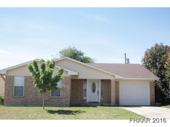 Photo of 2104 Newton Drive  Killeen  TX